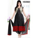 Bollywood Replica - Traditional Black Anarkali Suit   - 1113