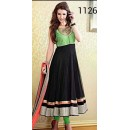 Bollywood Replica - Party Wear Multicolour Anarkali Suit   - 1126