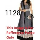Bollywood Replica - Traditional Grey Anarkali Suit   - 1128