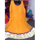 Bollywood Replica - Traditional Yellow Anarkali Suit   - 1136