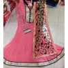 Bollywood Replica - Party Wear Pink Anarkali Suit   - 1147