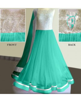 Bollywood Replica - Party Wear Green Anarkali Suit   - 1167-C