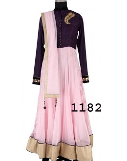 Bollywood Replica - Party Wear Blue Anarkali Suit   - 1182