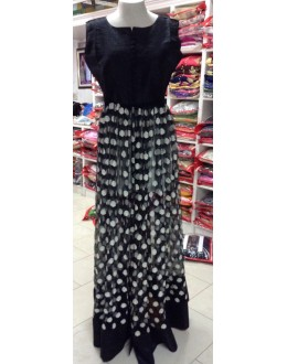 Bollywood Replica - Fancy Black Anarkali Suit   - 1218