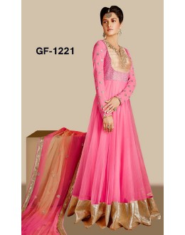 Bollywood Replica - Designer Light Pink Anarkali Suit   - 1221