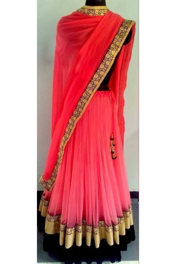 Bollywood Replica - Wedding Wear Dark Pink Lehenga Choli -  1222