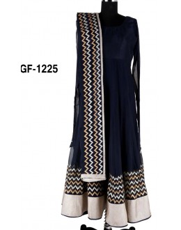 Bollywood Replica - Designer Blue Anarkali Suit   - 1225