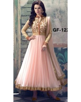 Bollywood Replica - Designer Light Pink Anarkali Suit   - 1226