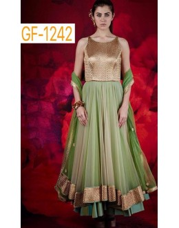 Bollywood Replica - Designer Green Anarkali Suit   - 1242