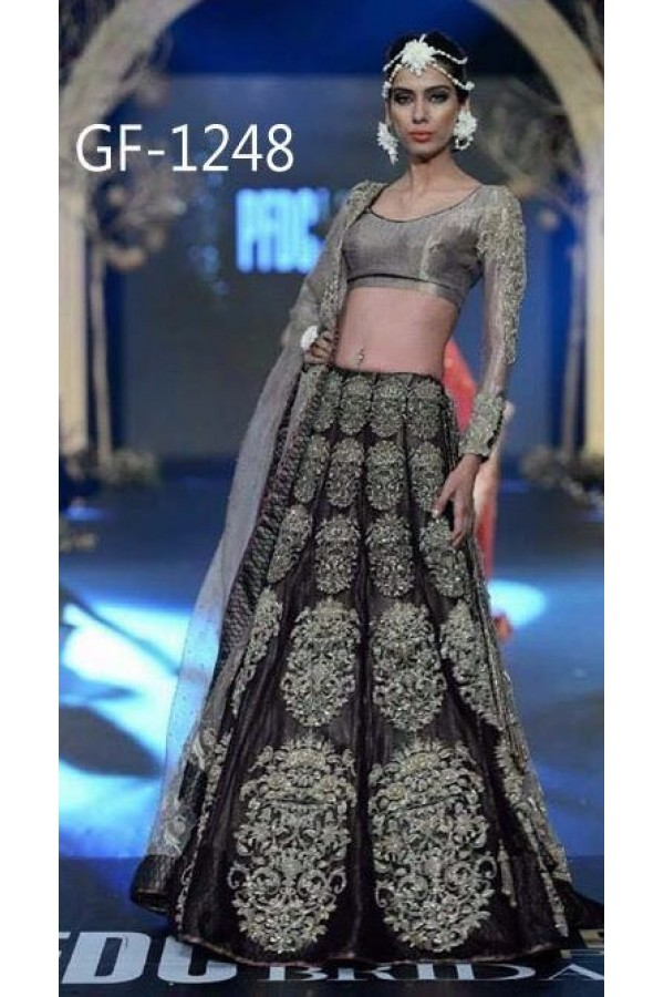 Bollywood Replica - Bridal Black Lehenga Choli -  1248