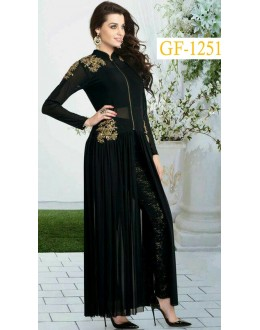 Bollywood Replica - Fancy Black Salwar Suit   - 1251