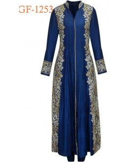 Bollywood Replica - Designer Blue Anarkali Suit   - 1253