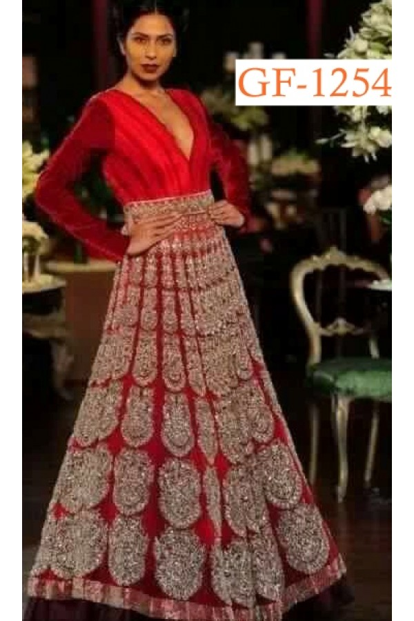 Bollywood Replica - Bridal Red Gown  - 1254
