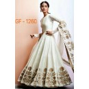 Bollywood Replica - Designer Off White Anarkali Suit   - 1260