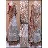 Bollywood Replica -  Bridal Wear Red & White Russell Net Lehenga Choli - 3301 ( MJ-3300 )