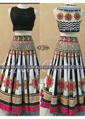 Bollywood Replica -  Designer Multi-Coloured Party Wear Lehenga Choli - KT-2016 ( MJ-KT-Lehenga )