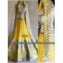 Bollywood Replica -  Designer Yellow Wedding Wear Lehenga Choli - KT-2012 ( MJ-KT-Lehenga )