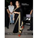 Bollywood Replica - Vidya Balan Designer Black  Saree - 165