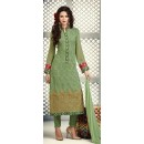 Ethnic Wear Green Georgette Salwar Suit - S-52