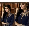 Party Wear Blue Georgette Palazzo Suit - 12022