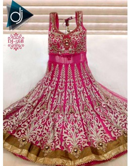 Bollywood Replica - Bridal Pink Anarkali Suit - DJ-56-3