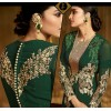 Ethnic Wear Green Royal Georgette Salwar Kameez - 9805