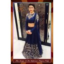 Bollywood Replica - Designer Party Wear Georgette Blue Lehenga Choli - WA0072 ( OFB-7079 )