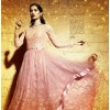 Nakashi 3030 Mono Net Peach Anarkali Suit - 3034