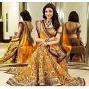Bollywood Replica - Kajal Aggarwal In Mustard Lehenga Choli - Dj-47 B