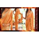 Bollywood Replica - Party Wear Beige Saree - 9084-B