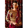 Party Wear Satin Shaded Red Saree - 365