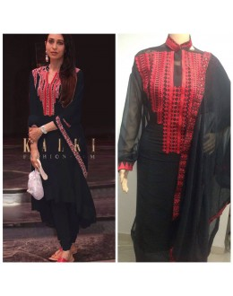 Bollywood Inspired - Karihma Kapoor In Black Salwar Suit - K02