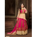 Festival Wear Pink Anarkali Suit  - 12010