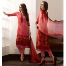 Party Wear Pink Georgette Salwar Suit - 962-02