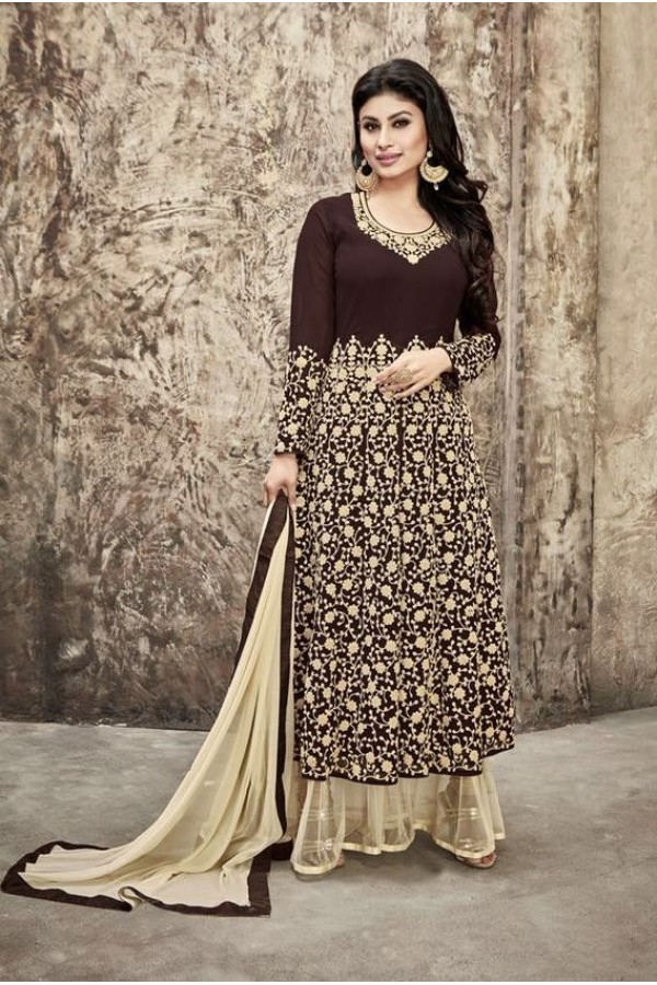 Eid Special Black Georgette Anarkali Suit - 33003