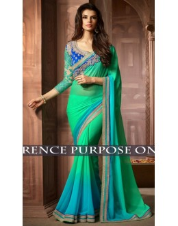 Bollywood Replica -  Designer Multicolour Saree - 1519