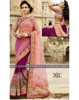 Bollywood Replica -  Designer Multicolour Saree - 1522