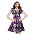 Fancy Readymade Royal Blue Western Wear Dress - D-08-A
