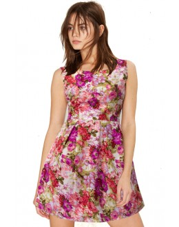 Casual Wear Readymade Pink Western Wear Dress - D-19