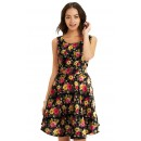 Casual Wear Readymade Black Western Wear Dress - D-21