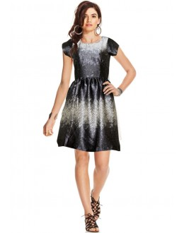 Fancy Readymade Multicolour Western Wear Dress - D-66