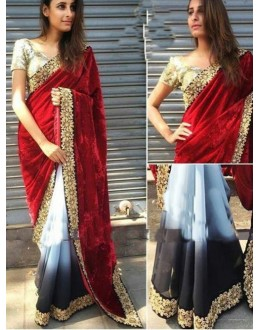 Bollywood Replica - Designer Multicolour Saree - KT-3018