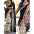 Bollywood Replica - Designer Black Saree - KT-3032
