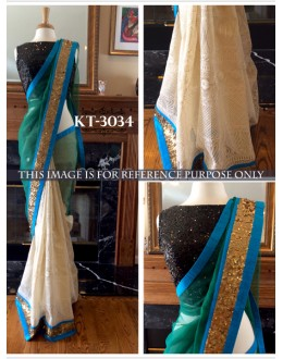 Bollywood Replica - Designer Multicolour Saree - KT-3034