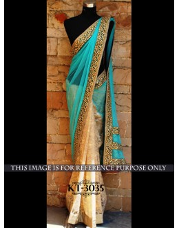 Bollywood Replica - Designer Multicolour Saree - KT-3035