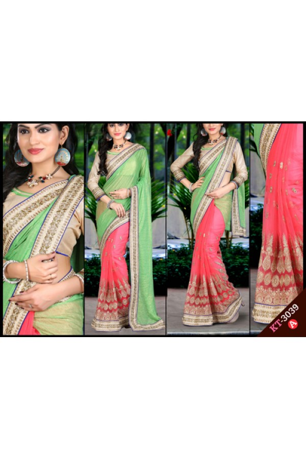 Bollywood Replica - Designer Multicolour Saree - KT-3039-A