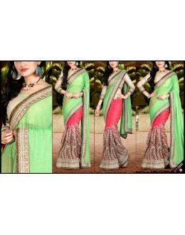 Bollywood Replica - Designer Multicolour Saree - KT-3041-B