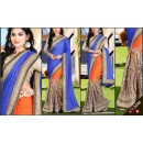 Bollywood Replica - Designer Multicolour Saree - KT-3041-C