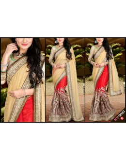Bollywood Replica - Designer Multicolour Saree - KT-3041-E