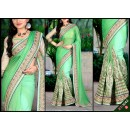Bollywood Replica - Designer Sea Green Saree - KT-3042-A